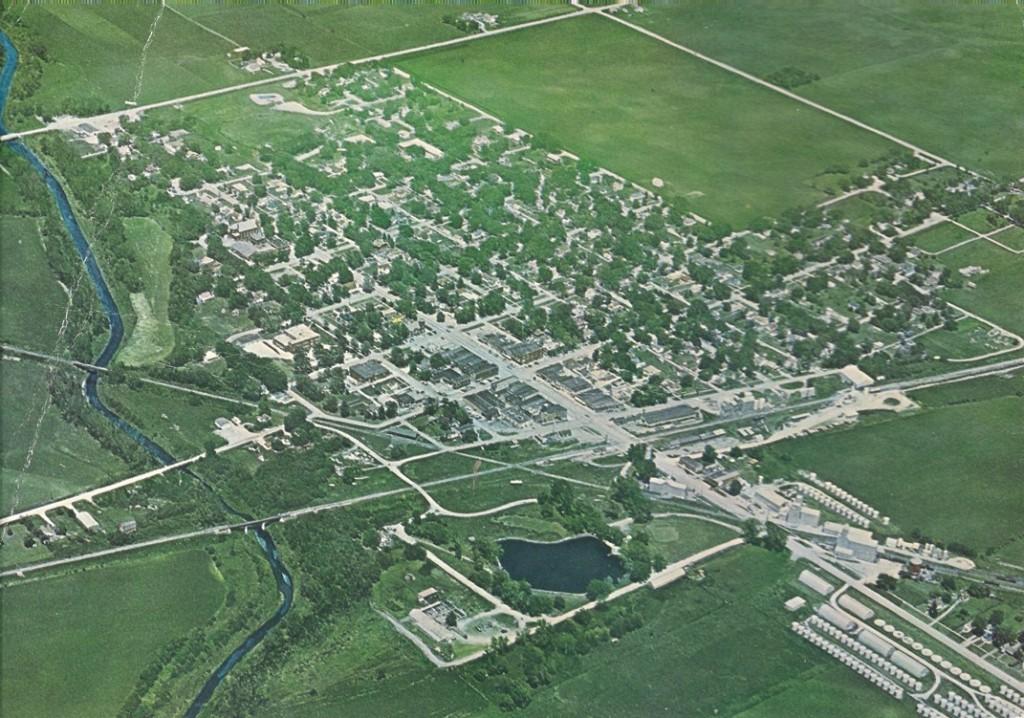 Town of Fonda, Iowa, in 1967